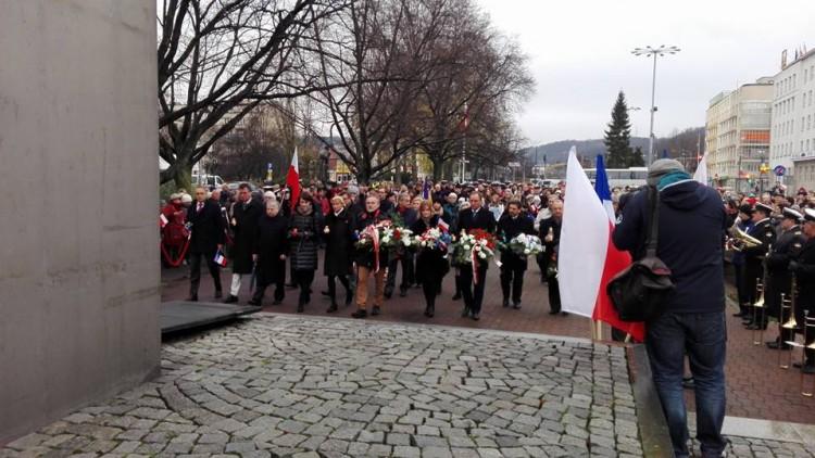 Marsz Solidarności z ofiarami zamachów w Paryżu