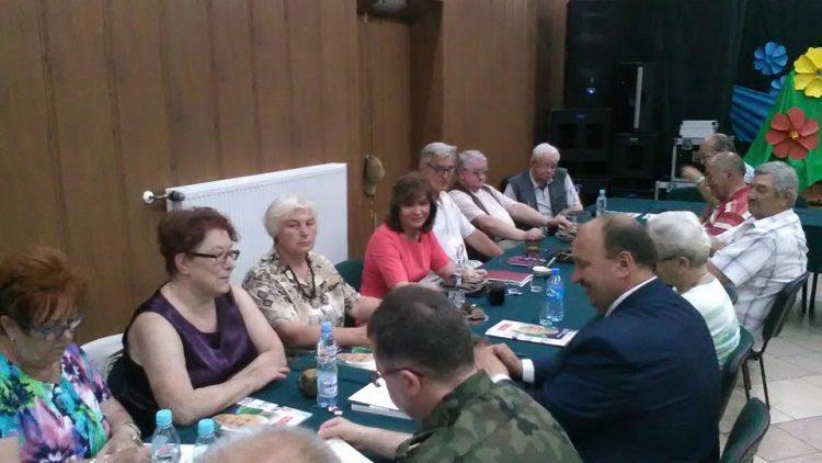 Spotkanie z seniorami w Czarnem