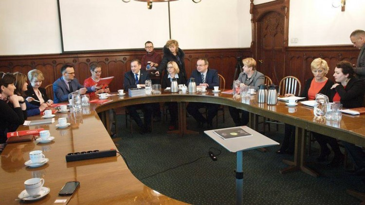 Spotkanie z Prezydentem Robertem Biedroniem