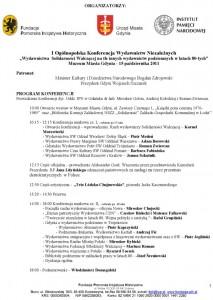 program konferencja ostateczny