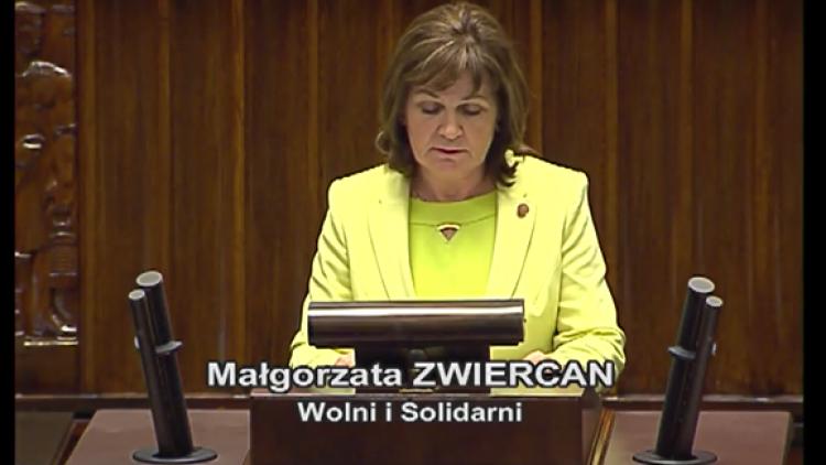Stanowisko koła Wolni i Solidarni  w sprawie CZD