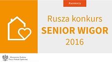 Ruszyła edycja Senior-Wigor 2016