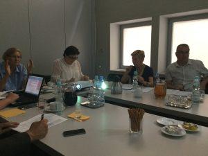 3 sierpnia 2016 r. - spotkanie w sprawie kierunków rozwoju polityki senioralnej