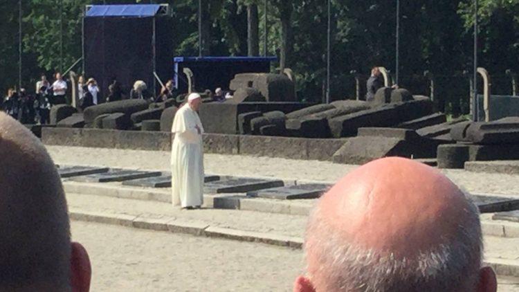 Spotkanie z papieżem Franciszkiem w Brzezince