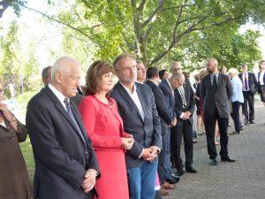 31 sierpnia 2016 r. - uroczystość pod pomnikiem Ofiar Grudnia w Gdyni
