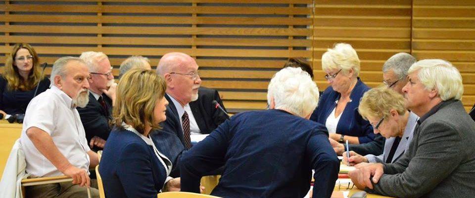 20 września 2016 r. - posiedzenie rad seniorów w Opolu