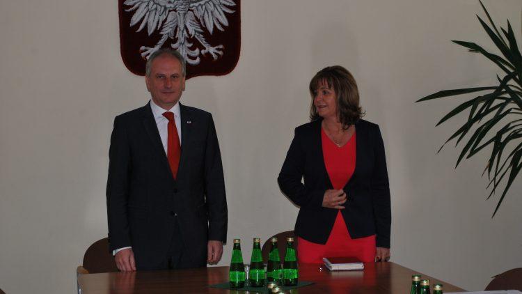 Spotkanie z Wojewodą Pomorskim