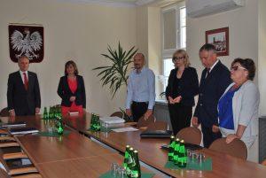 19 września 2016 r. - spotkanie u Wojewody Pomorskiego w sprawie Pozdziemnego Magazynu Gazu Kosakowo