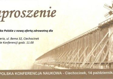 """14 października 2016 r. - konferencja """"Uzdrowiska Polskie z nową ofertą zdrowotną dla seniorów""""."""