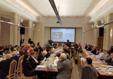 """18 października 2016 r. - """"Konferencji Dobre Praktyki na rzecz osób starszych"""". K"""