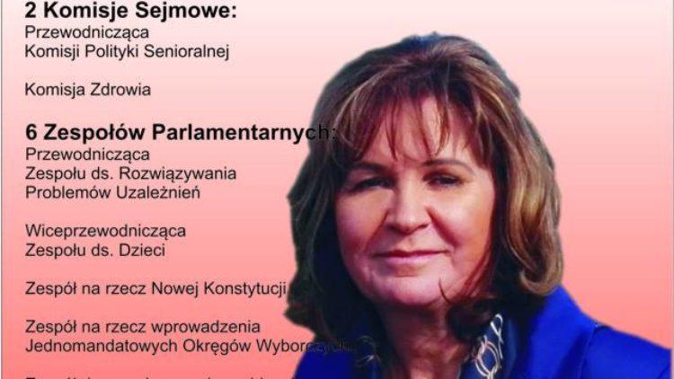 Podsumowanie roku pracy w Sejmie.