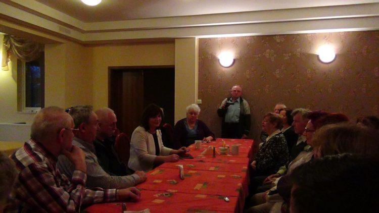 Spotkanie z weteranami działań na rzecz niepodległego bytu państwa polskiego.