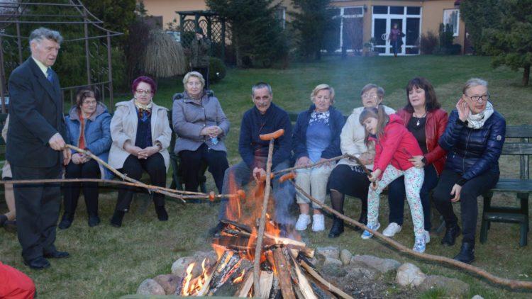 Spotkanie z seniorami w Jastrzębiej Górze
