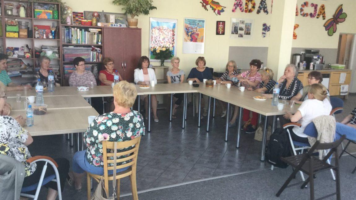 Spotkanie z Seniorami w Chylonii