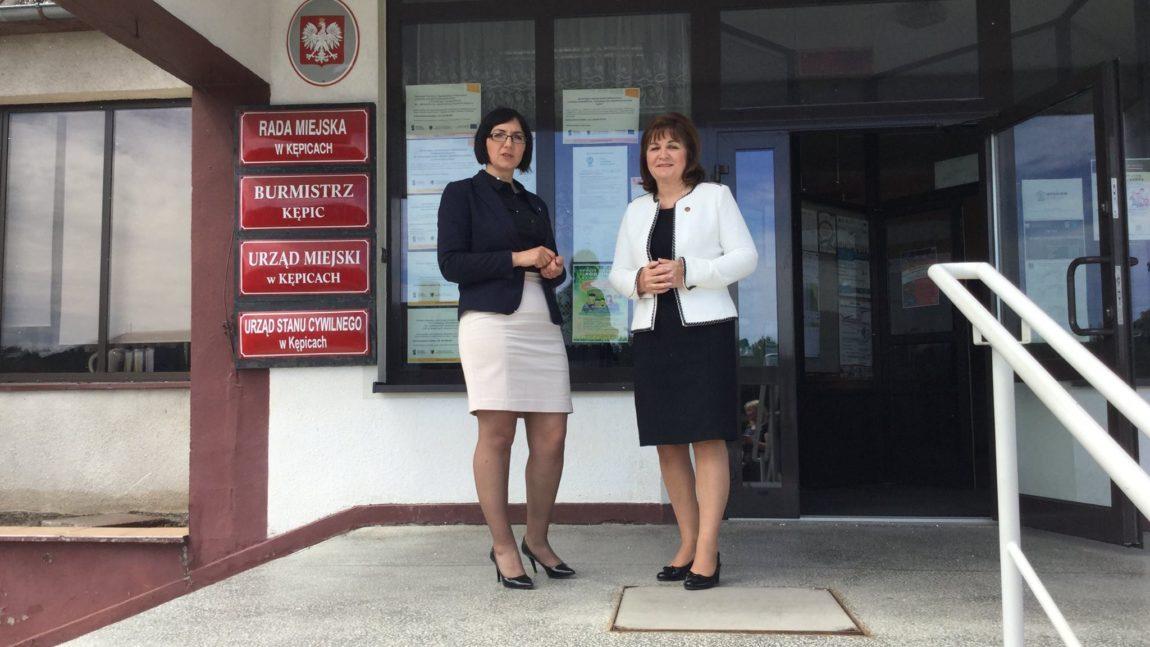 Spotkanie z Panią Burmistrz w Kępicach