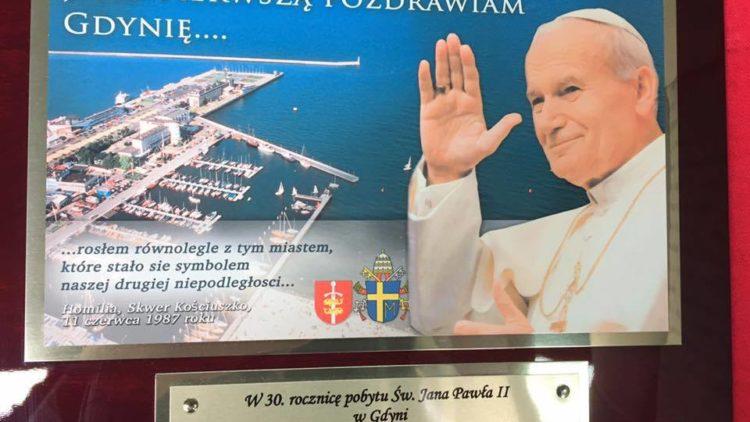 30 lecie wizyty Jana Pawła II w Gdyni