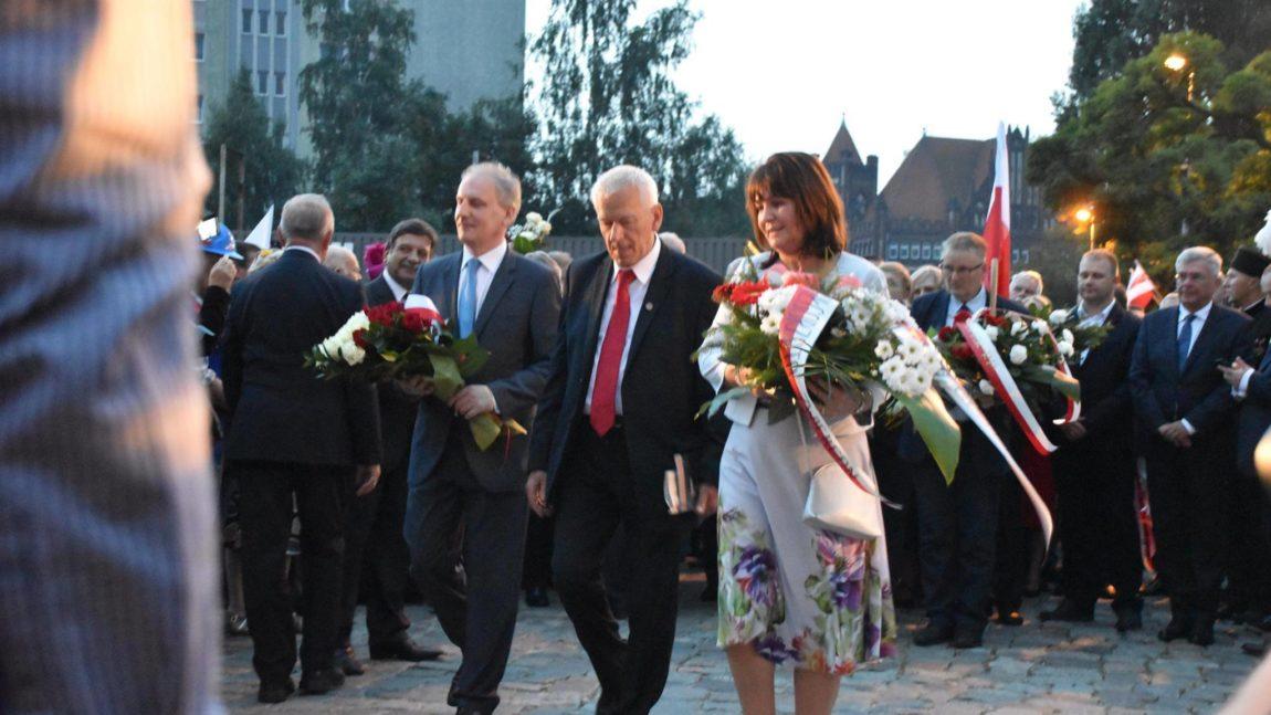 Uroczystości sierpniowe w Gdańsku