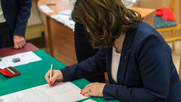 Uroczystości podpisania i wmurowania aktów erekcyjnych w powiecie wejherowskim.