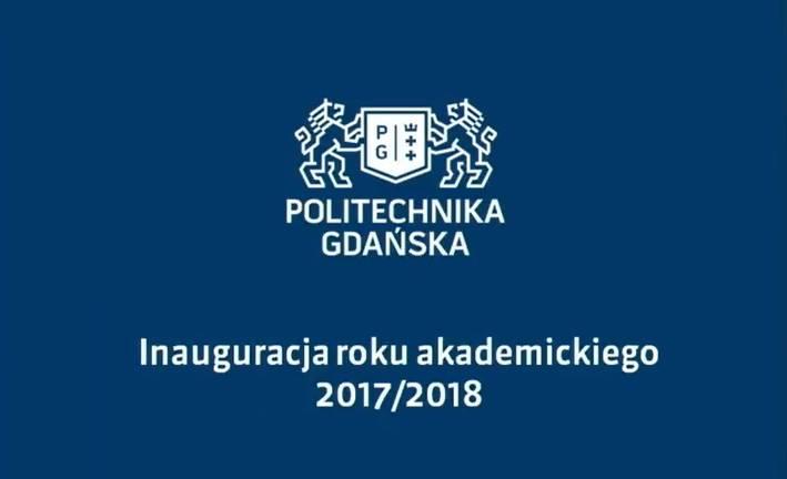 Inauguracji roku akademickiego na PG