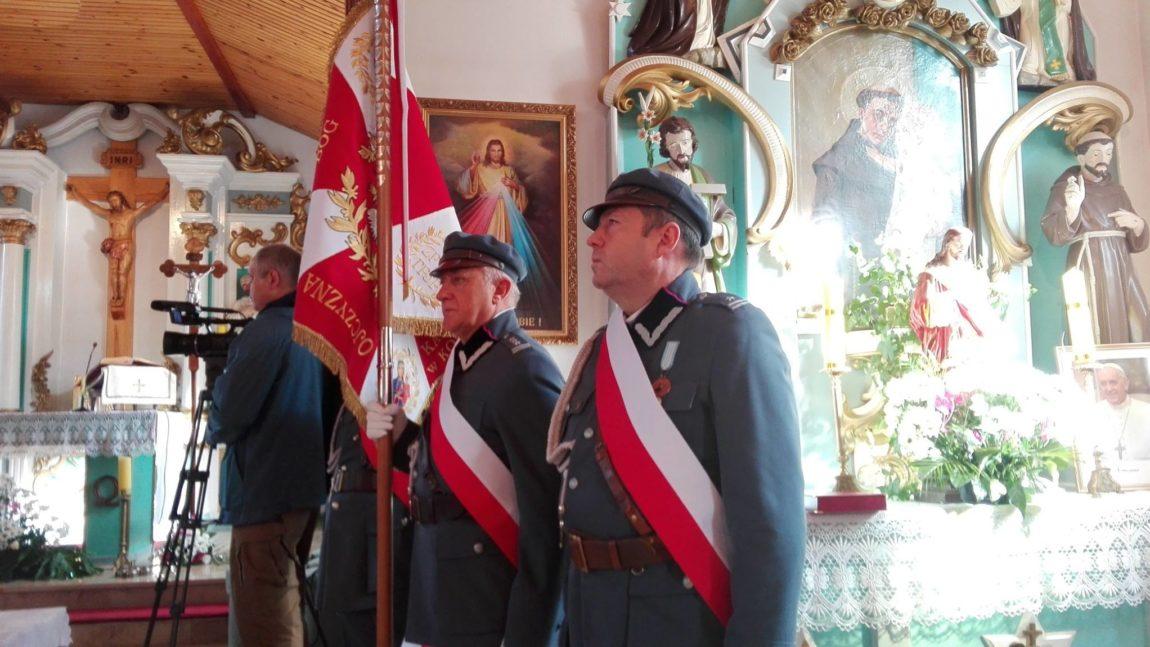 Poświęcenia oraz wręczenia Sztandaru Okręgowi Kaszubskiemu Związku Piłsudczyków RP