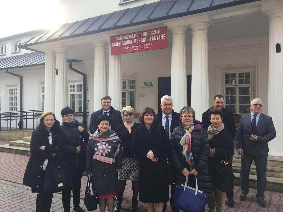 Wyjazdowe posiedzenie Komisji Polityki Senioralnej w Zamościu