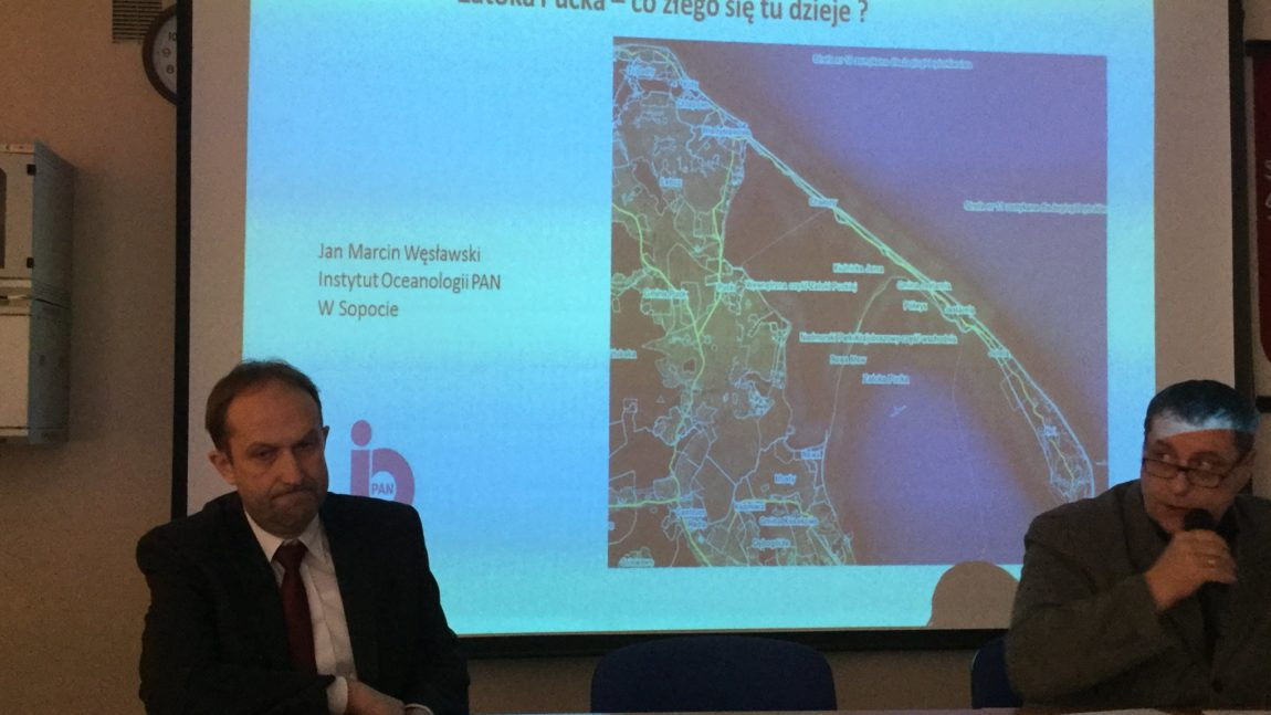 Konferencja poświęcona zagadnieniom aktualnego stanu wód i środowiska Zatoki Puckiej