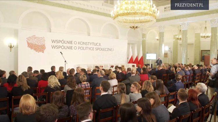 """Konferencja """"Wspólnie o Konstytucji, wspólnie o polityce społecznej"""""""