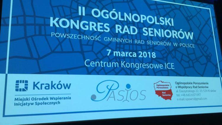 II Ogólnopolskim Kongresie Rad Seniorów
