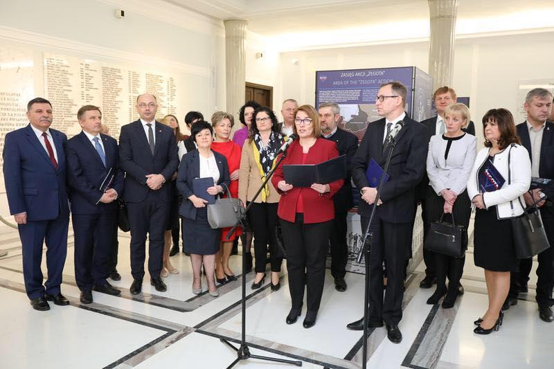 """Wystawa poświęcona Radzie Pomocy Żydom """"Żegota"""""""