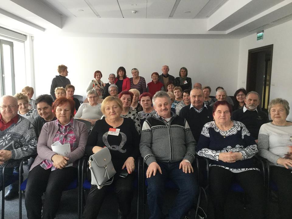 Spotkanie w Sejmie RP z seniorami