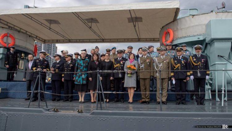 Uroczyste obchody święta Centrum Operacji Morskich