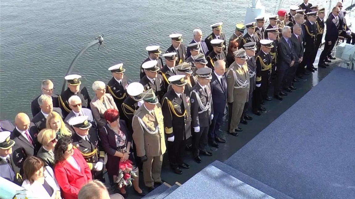 Uroczysta promocja podchorążych Akademii Marynarki Wojennej