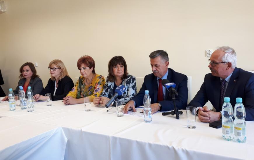 Wizytacja Komisji Polityki Senioralnej na Podkarpaciu