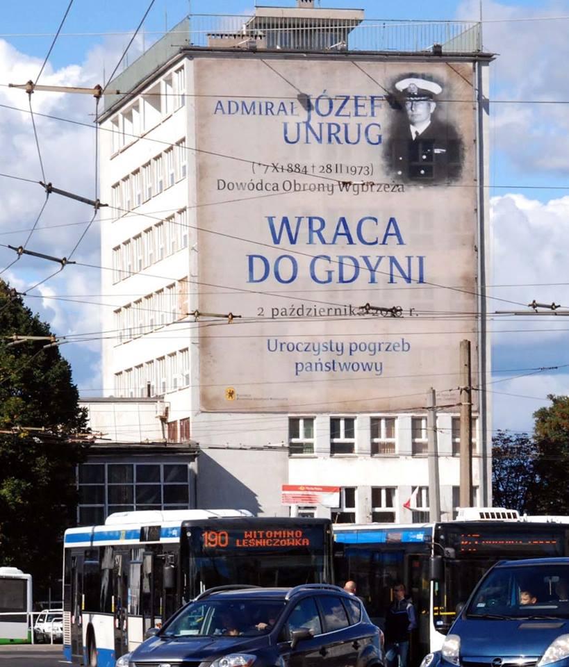 Uroczystości pochówku Admirała Józefa Unruga i jego Małżonki