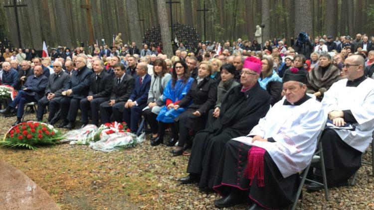 Uroczystości piaśnickie ku czci osób pomordowanych