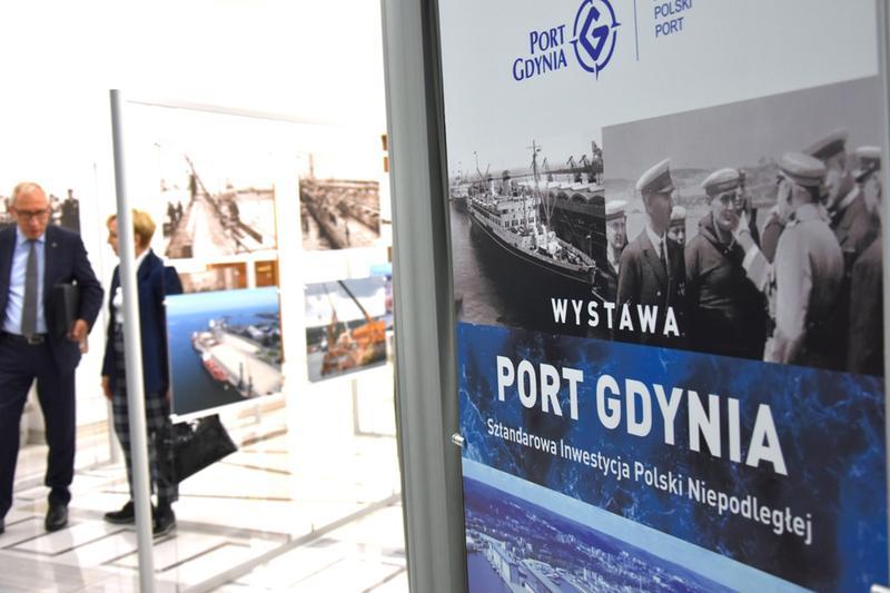 Otwarcie wystawy o Gdyni w Sejmie RP