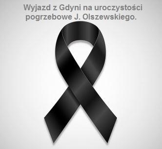 Wyjazd  z Gdyni na pogrzeb Jana Olszewskiego