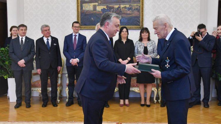 Uroczystość w Ambasadzie Węgier