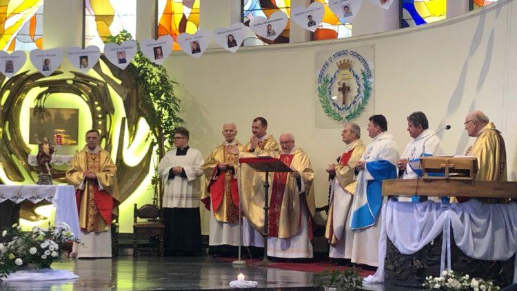 Msza święta z okazji 60-lecia kapłaństwa ojca Antoniego Stańczyka
