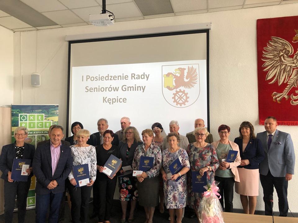 I posiedzenie Rady Seniorów w Kępicach