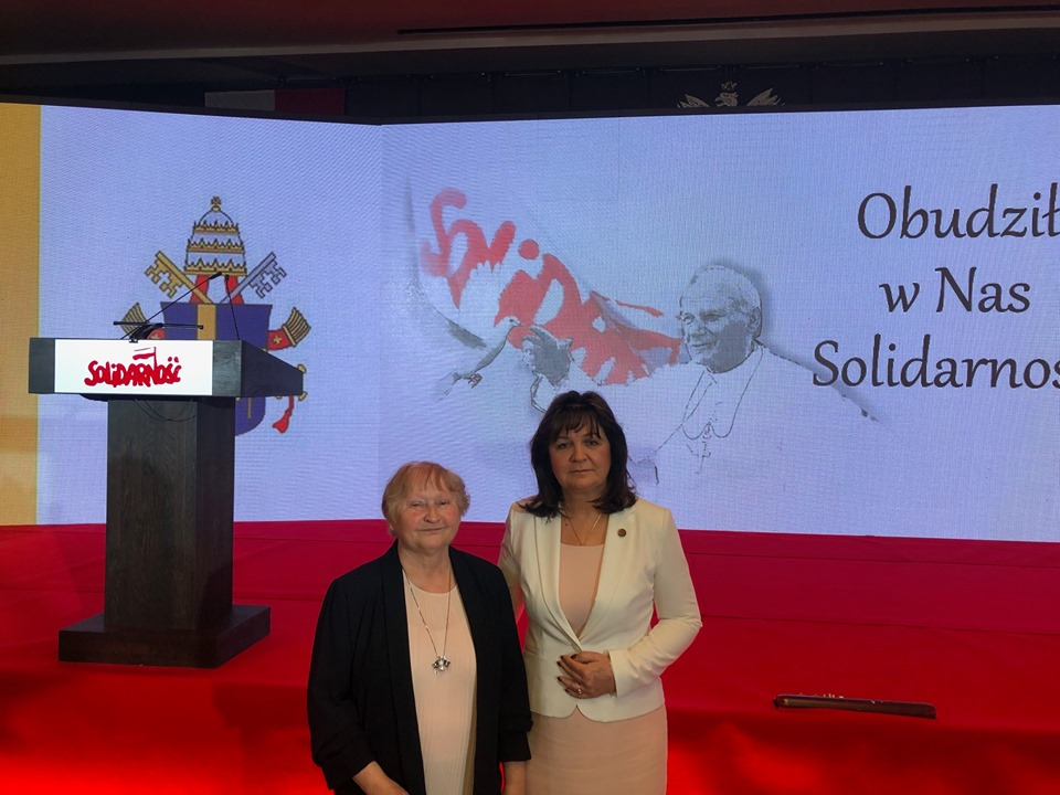 """Konferencja """"Obudził w nas Solidarność. W 40. rocznicę Pierwszej Pielgrzymki Jana Pawła II do Ojczyzny"""""""