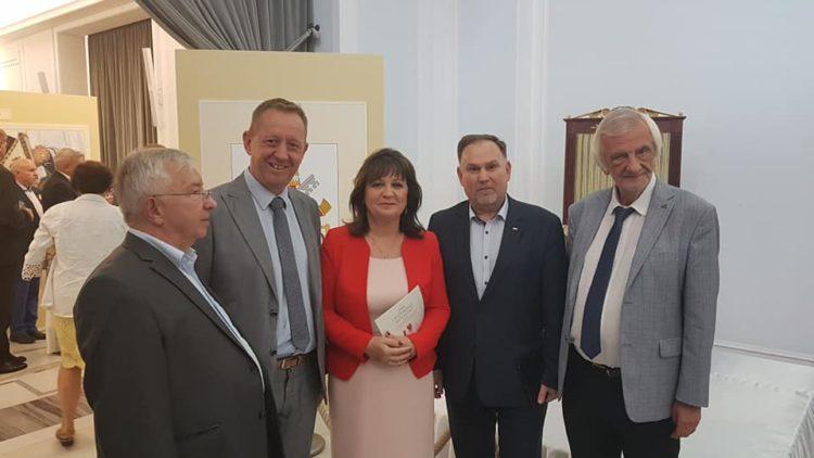 Inauguracja wystawy związanej z 20-leciem wizyty w Parlamencie Jana Pawła II