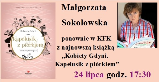 Spotkanie autorskie Małgorzaty Sokołowskiej