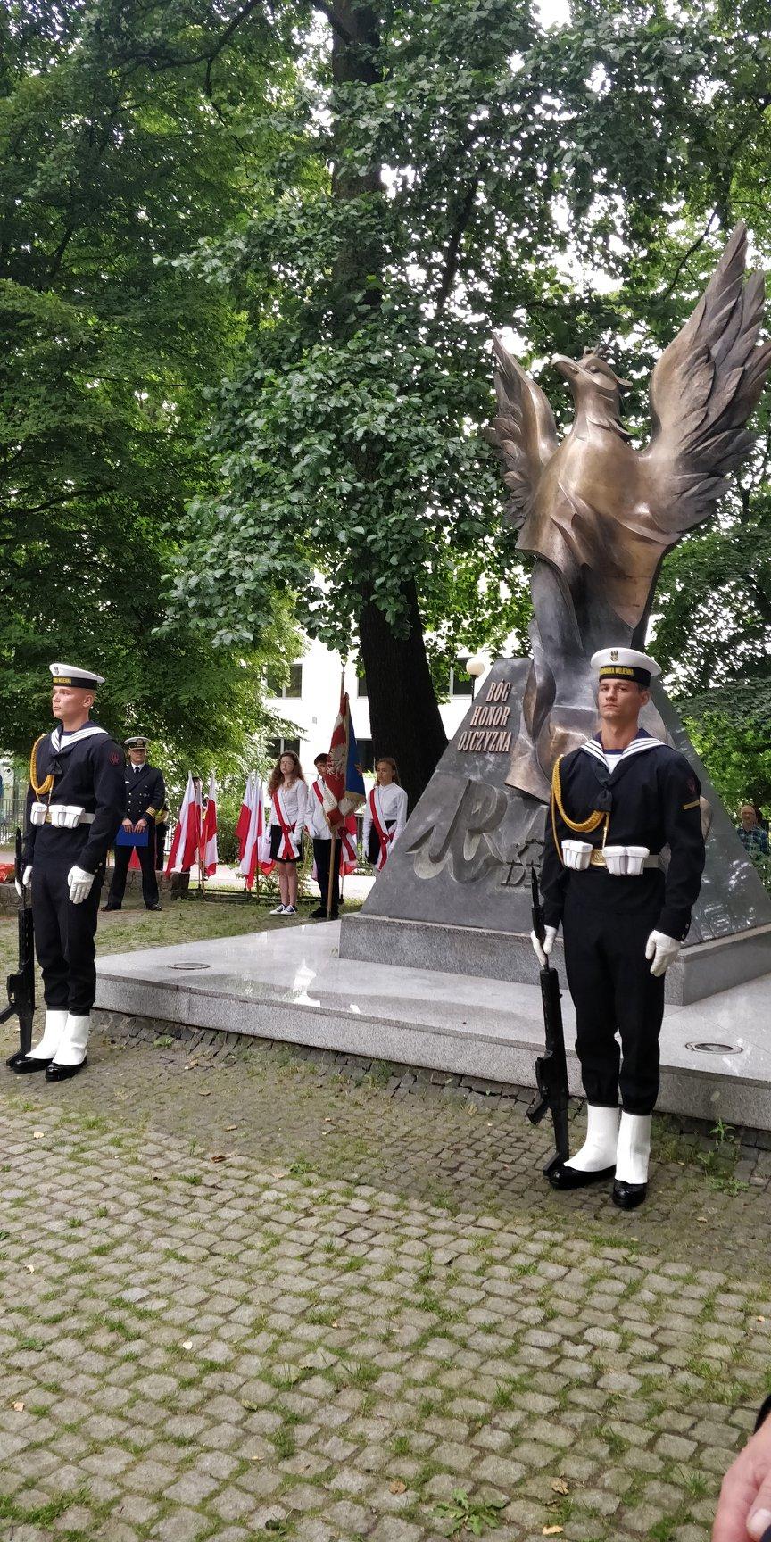 Upamiętnienie 75. rocznicy wybuchu Powstania Warszawskiego w Sopocie