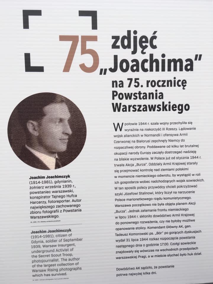 """75 ZDJĘĆ """"JOACHIMA"""" NA 75. ROCZNICĘ POWSTANIA WARSZAWSKIEGO"""