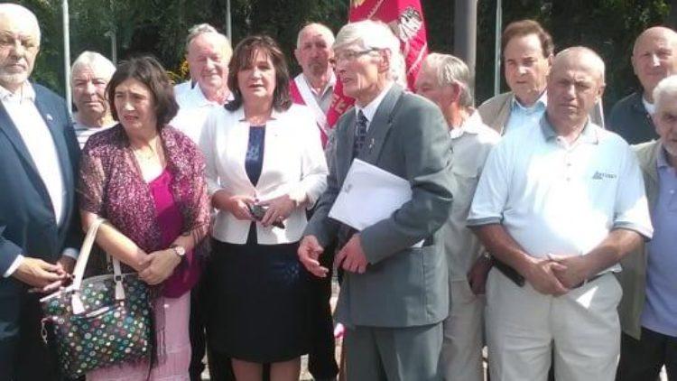 39. rocznica I Mszy św. na terenie stoczni w PRL-u odprawianej przez ks. prałata Hilarego Jastaka