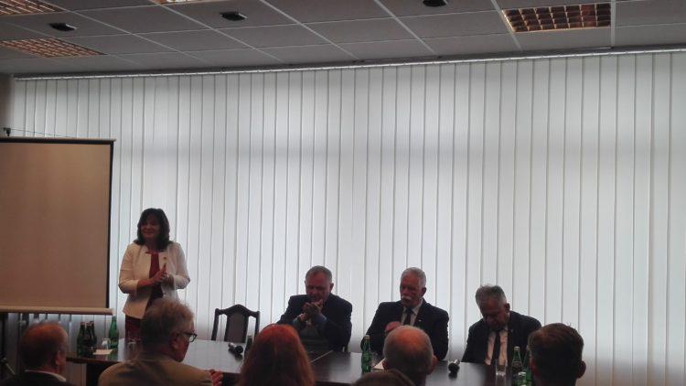Spotkanie w Delegaturze Pomorskiego Urzędu Wojewódzkiego w Słupsku