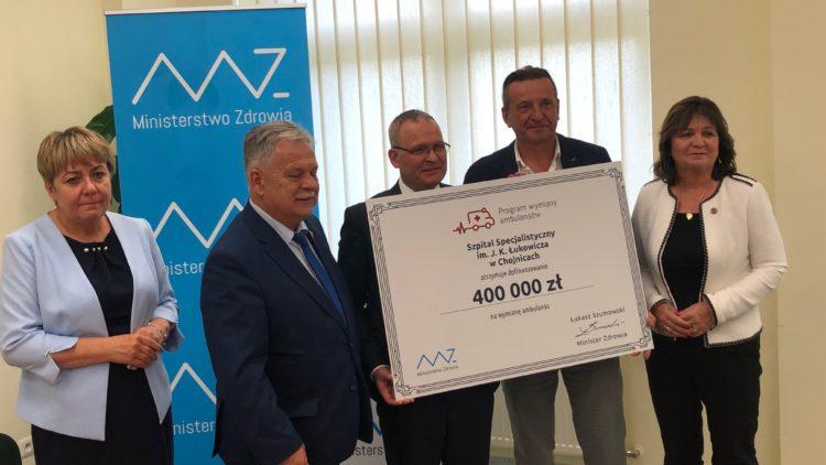 Dofinansowanie szpitali w województwie pomorskim