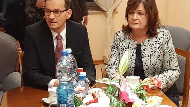 Wsparcie Premiera dla Poseł Małgorzaty Zwiercan