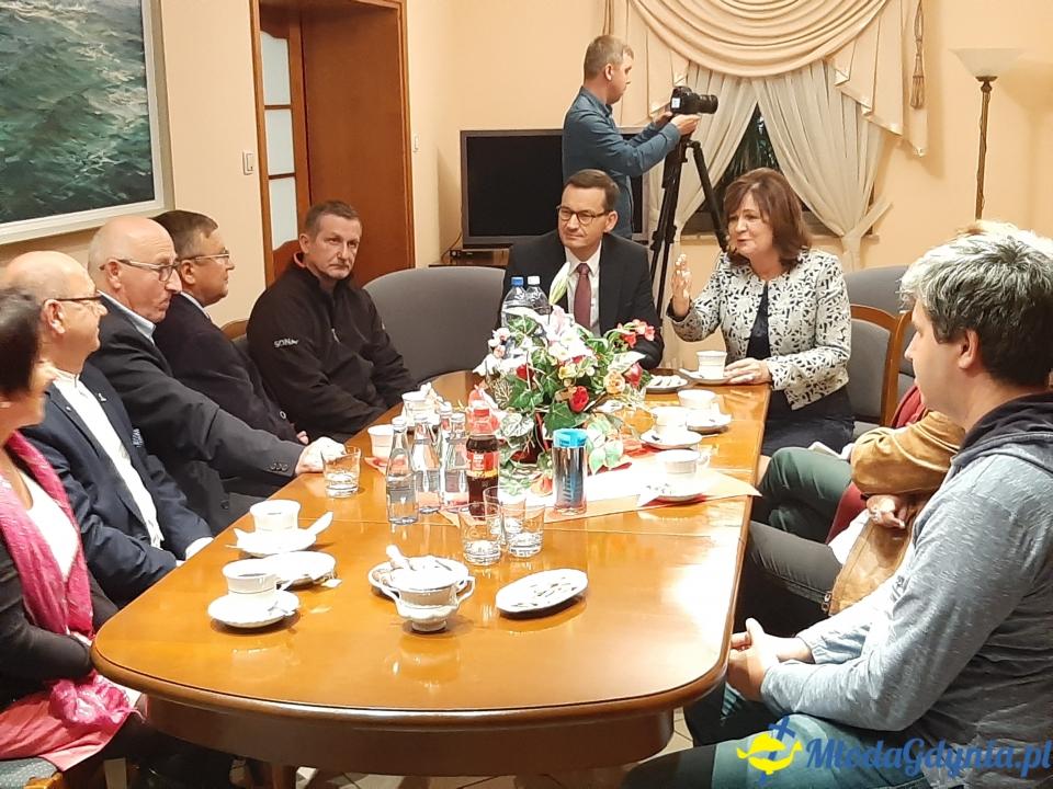 Spotkanie Premiera ze sztabem wyborczym w Gdyni